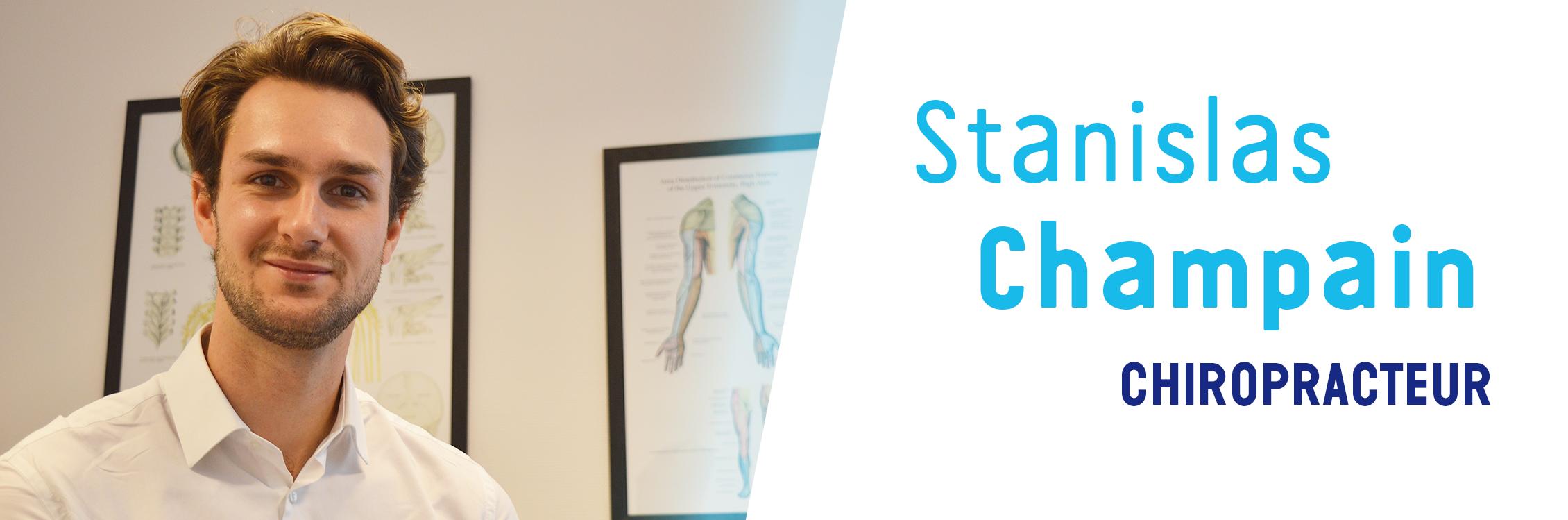 Stanislas Champain – Chiropracteur Cherbourg